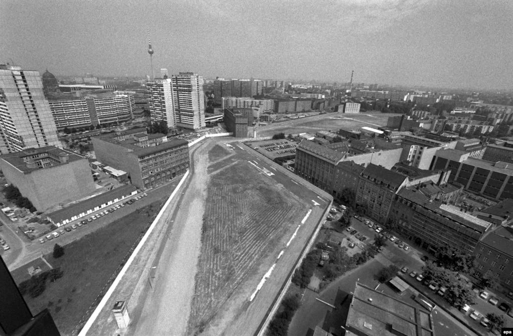 Розділений Берлін у 1986 році