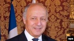 Францускиот министер за надворешни работи Лорен Фабиус