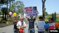 «Dalğa» Gənclər Hərəkatının aksiyası