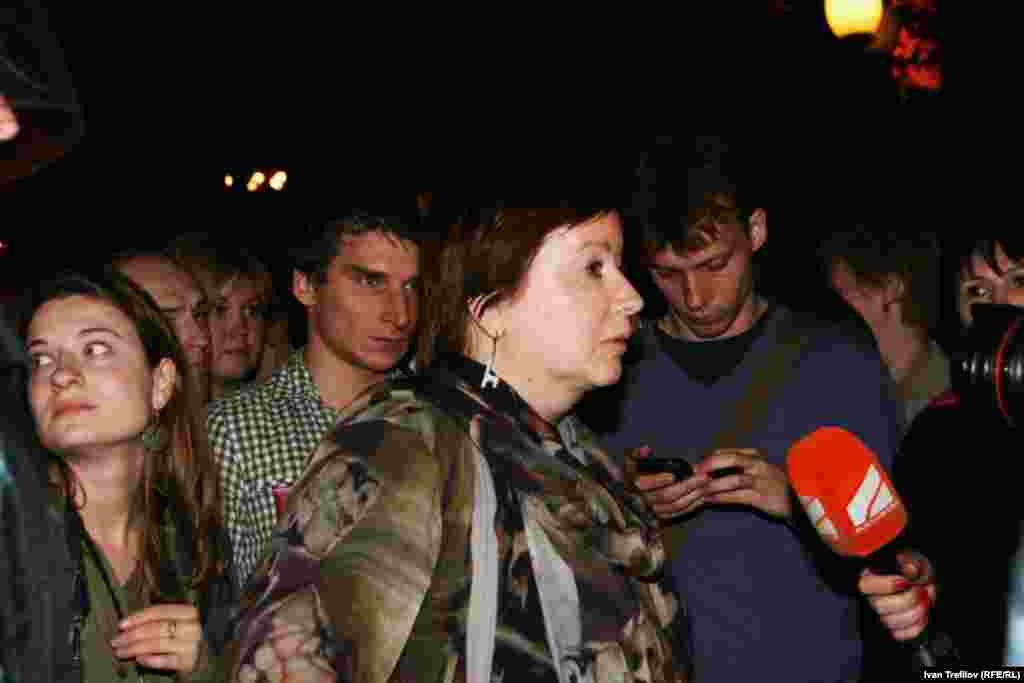 Ольга Романова всегда на баррикадах 16 мая