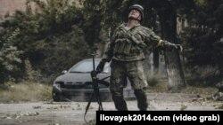 "Иловайск-2014. ""Донбасс"" батальони"" фильмидан олинган кадр."