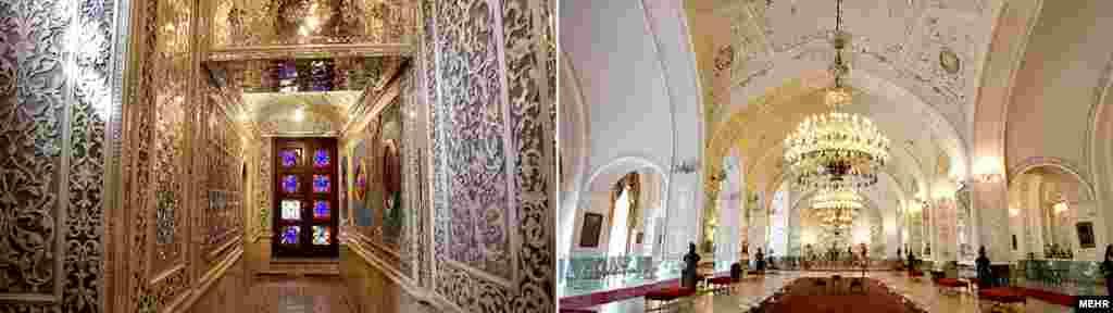 Каҗар нәселе чорында 1925 елга кадәр Гөлистан сарае сәнгать һәм архитектура үзәге буларак танылган.