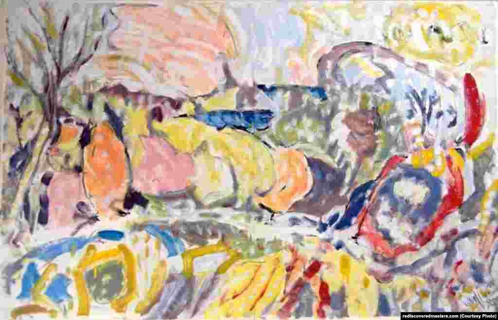 Untitled landscape, Bellport, NY (1985)