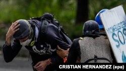 Сутыкненьні ў Каракасе 20 ліпеня