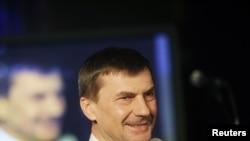 Премьер Эстонии и глава правящей Партии Реформ Андрус Ансип, Таллин, 6 марта 2011
