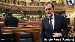 Marijano Rahoj u španskom Senatu