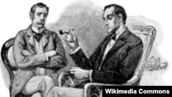 Хватит работать, Шерлок Холмс и доктор Ватсон, авторитет вместо доминатрикс