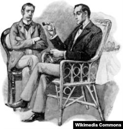 Шерлок Холмс һәм Джон Уотсон (с)