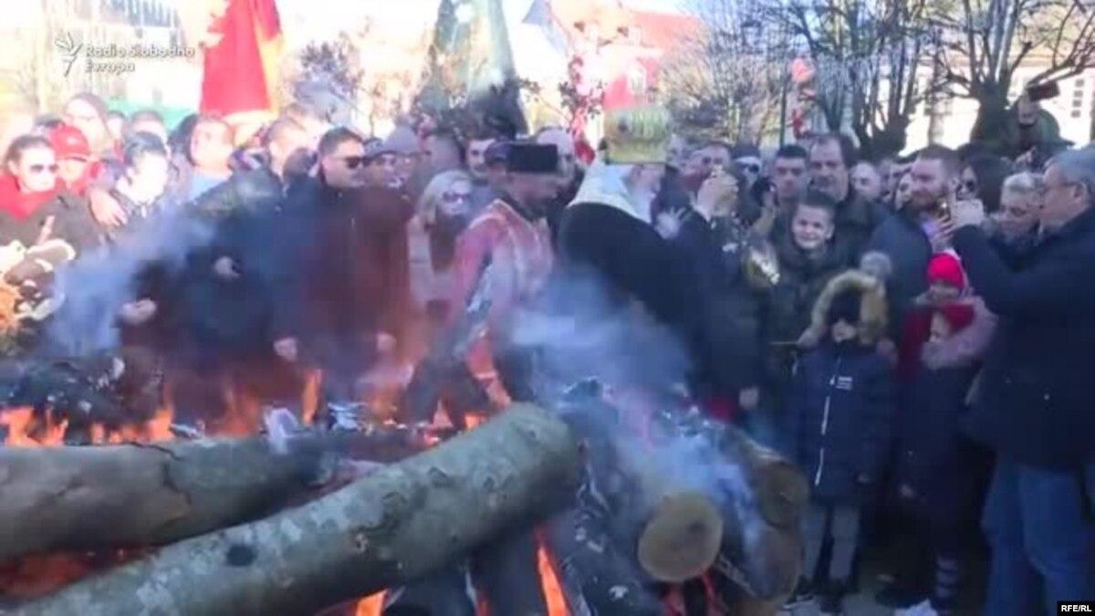 Черногория: одно Рождество, две православные церкви, массовые протесты