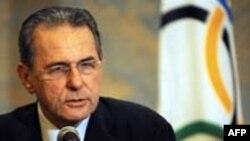 Beynəlxalq Olimpia Komitəsinin prezidenti Jacques Rogge