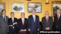 Հայաստանի և Ադրբեջանի ԱԳ նախարարների՝ ԵԱՀԿ Մինսկի խմբի համանախագահների մասնակցությամբ հանդիպումը Նյու Յորքում, 23-ը սեպտեմբերի, 2019թ․