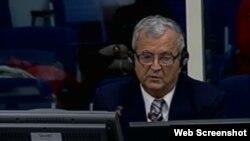 Milenko Todorović svjedoči na suđenju Ratku Mladiću, 25. studeni 2013.