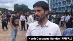 Марат Исмаилов, организатор антикоррупционной акции в Махачкале (архивное фото)