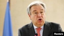 Генеральный секретарь ООН Антониу Гутерреш (архив)