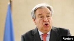 Antonio Guterres, generalni sekretar UN