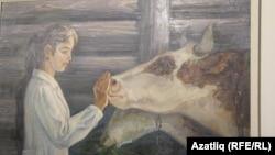 """Мөдәррис Минһаҗевның """"Безнең барысы да яхшы булыр"""" картинасы"""