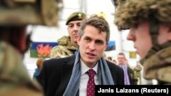 Sekretari britanik i Mbrojtjes, Gavin Williamson.