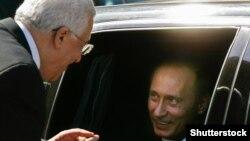 Путин Владимир а, Iаббас Махьмуд а
