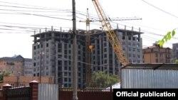 Строительство в Бишкеке. Иллюстративное фото.