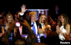 Победная речь Трампа после выхода Теда Круза из президентской гонки