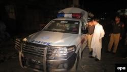 Pamje e kontrollit të policisë në provincën Baloçistan pas vrasjes së katër policëve më 28 qershor