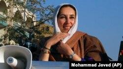 Benazir Bhutto terror aktından az əvvəl