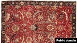 Персидский ковер. Иллюстративное фото.