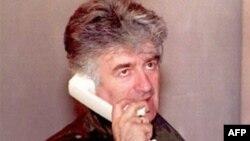 Radovan Karadžić, fotografija iz avgusta 1995. godine