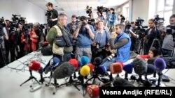Журналісти в очікуванні прес-конференції. Ілюстративне фото