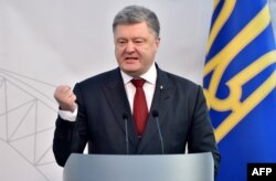 "The office of Ukrainian President Petro Poroshenko has dismissed the accusations as ""absolutely false."""
