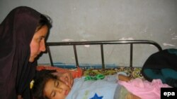 Ирак. Ребенок и его мать в больнице Багдада после взрыва террориста самоубийцы. Посттравматический стресс может привести к уменьшению гиппокампа.