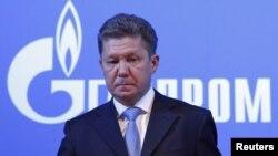 Олексій Міллер на щорічних загальних зборах акціонерів «Газпрому» в Москві 29 червня 2012 року