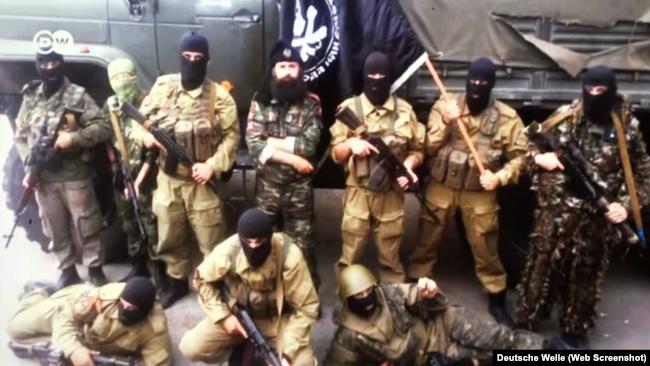 Сербские боевики на Донбассе