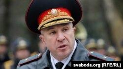 Міністар унутраных спраў Юры Караеў, архіўнае фота