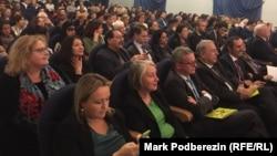 Зрители на открытии фестиваля кино стран Европейского союза в Томске