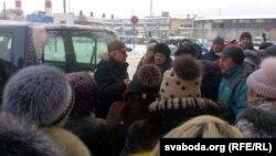 Прадстаўнік РГА «Пэрспэктыва» ладзіў асобны сход