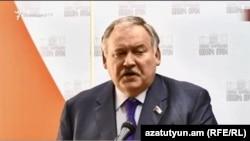 Константин Затулин, Ереван, 26 марта 2018 г.