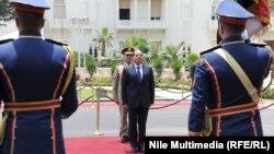 من حفل تنصيب الرئيس السيسي - القاهرة 8 حزيران
