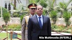 Египеттің жаңа президенті Абдел Фаттах әл-Сиси инаугурация кезінде. Каир, 8 маусым 2014 жыл.