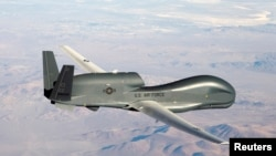 Американський важкий розвідувальний безпілотник RQ-4, архівне фото