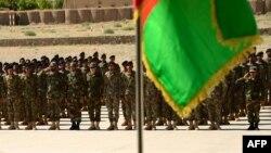 Припадници на авганистанските безбедносни сили.