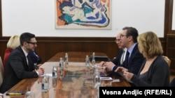 Predstavnici Otvorenog društva u razgovoru sa predsednikom Srbije Aleksandrom Vučićem