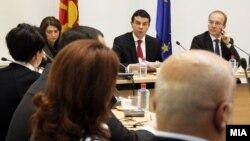 Седница на собраниската Комисија за надворешна политика, 21 декември 2011.