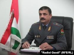 Генерал Анвар Тағоймуродов, сардори Раёсати корҳои дохилии Хатлон