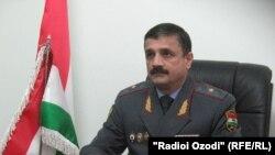 Анвар Тагоймуродов - начальник УВД Хатлонской области