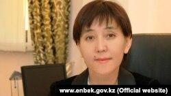 Тамара Дүйсенова, денсаулық сақтау және әлеуметтік даму министрі.