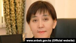 Денсаулық сақтау және әлеуметтік даму министрі Тамара Дүйсенова.
