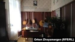 Кабинет в музыкальной школе.