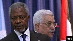 После неудачных попыток примирения Израиля и Ливана Кофи Аннан провел переговоры с лидером Палестины
