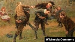100 словаў. Ралф Хэдлі, «Турнір» (1898)